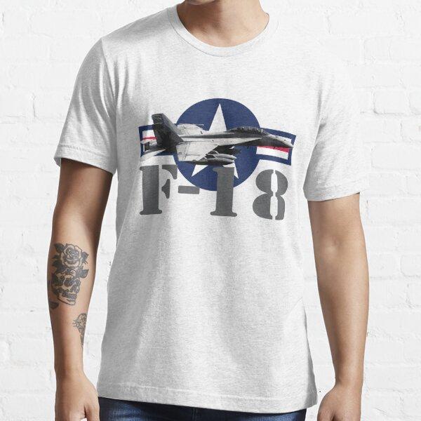 F//A-18 Hornet American Airpower Women`s Dark T-Shirt