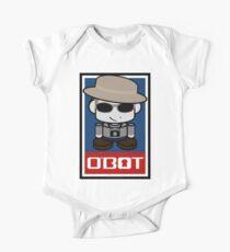 Frank O'bot 2.0 Short Sleeve Baby One-Piece
