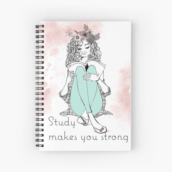 Study Makes You Strong - Regalo de la canción original de JW Cuaderno de espiral