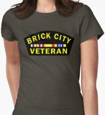 'Brick City Veteran' Women's Fitted T-Shirt
