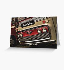 Classic Vehicles - AEC Omnibus Greeting Card