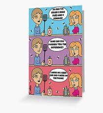 Fun sexist card Greeting Card