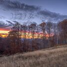 October sunset by Ivo Velinov