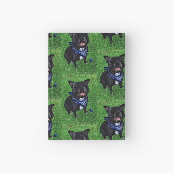 The Happy Staffy Hardcover Journal