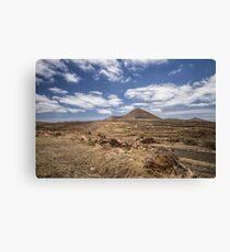 Lanzarote landscape Canvas Print