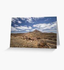 Lanzarote landscape Greeting Card