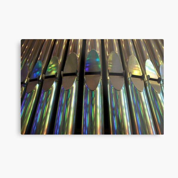 organ pipes Metal Print