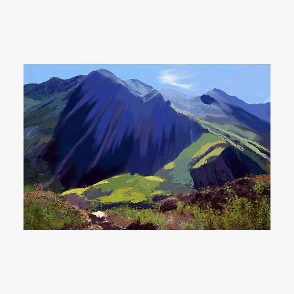 Andes Mountains Photographic Print