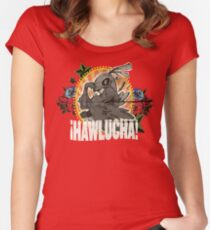 Hawlucha To-Go! Women's Fitted Scoop T-Shirt