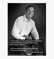 Richard Feynman Fotodruck