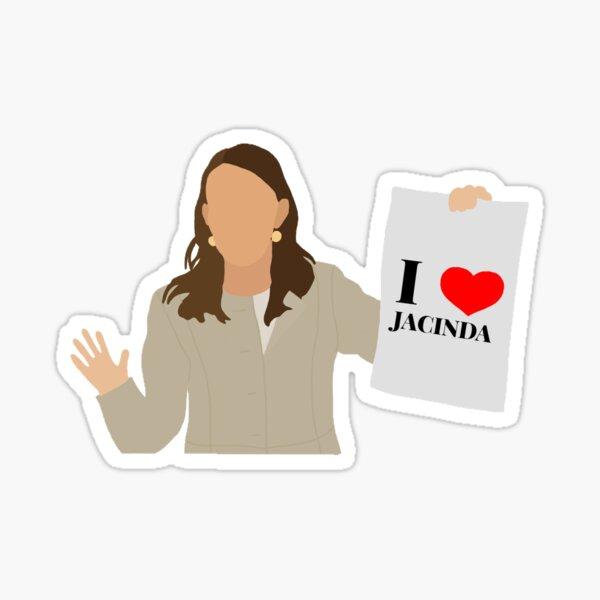 Jacinda Sticker