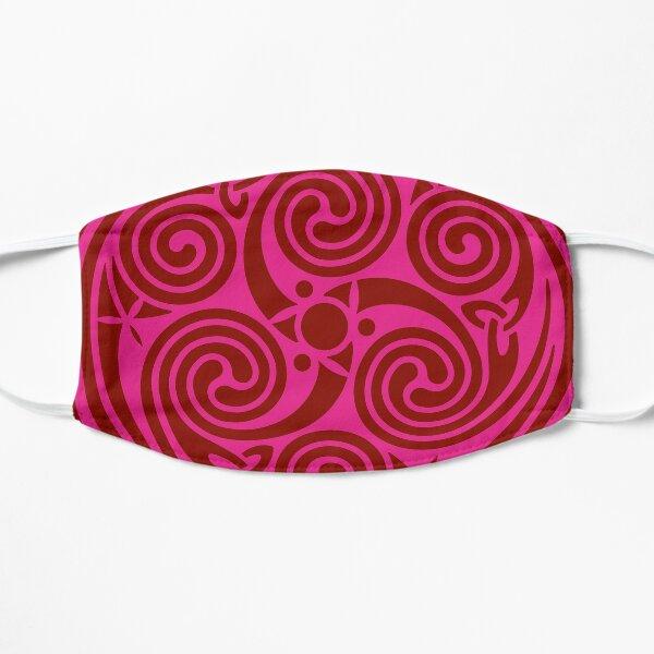 Celtic Spiral - Pink Mask