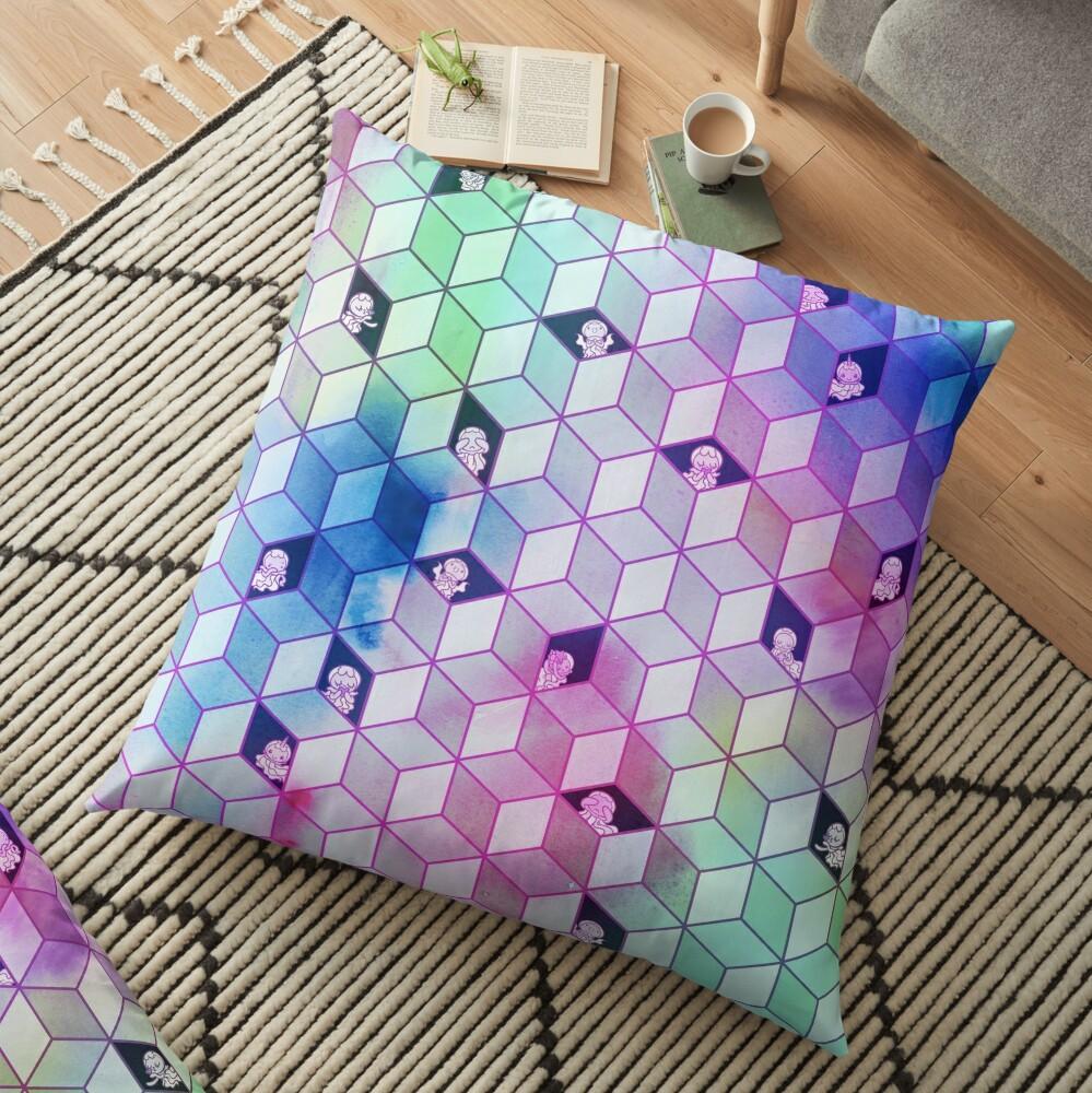 Hide N Seek Jelly Floor Pillow