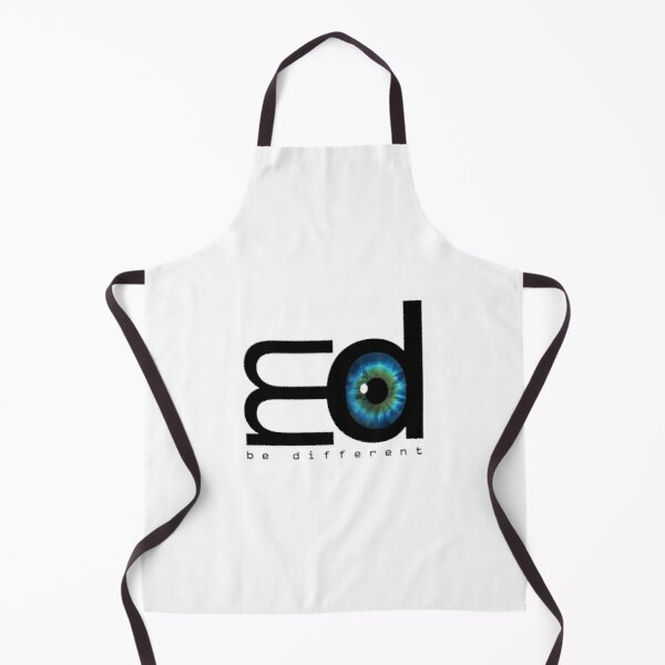 Me Mood Music - Logo (Be Different) Apron