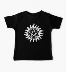 Supernatural Tattoo (white) Kids Clothes