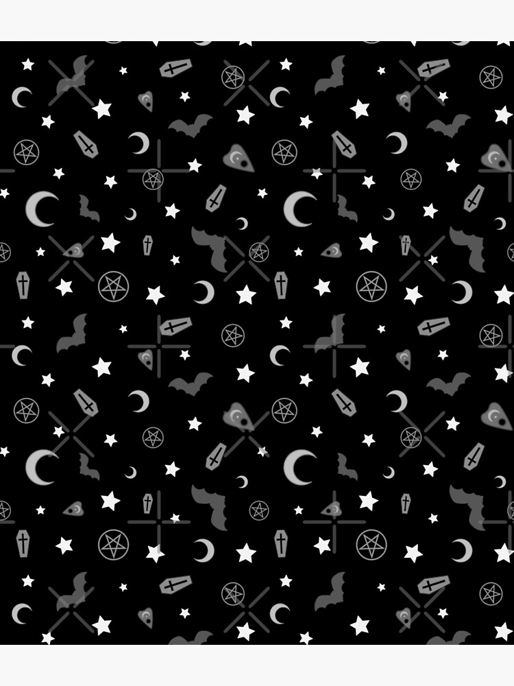 Goth Occult Pattern by deadimage