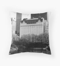 The Plaza Hotel, New York  Throw Pillow