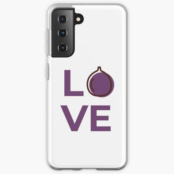Love Fig Fruit Samsung Galaxy Soft Case
