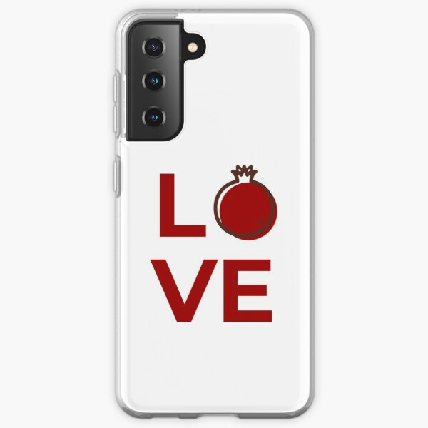 Love Pomegranate Fruit Samsung Galaxy Soft Case