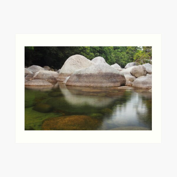 Mossman George, Queensland Art Print