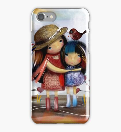 Love and Friendship iPhone Case/Skin
