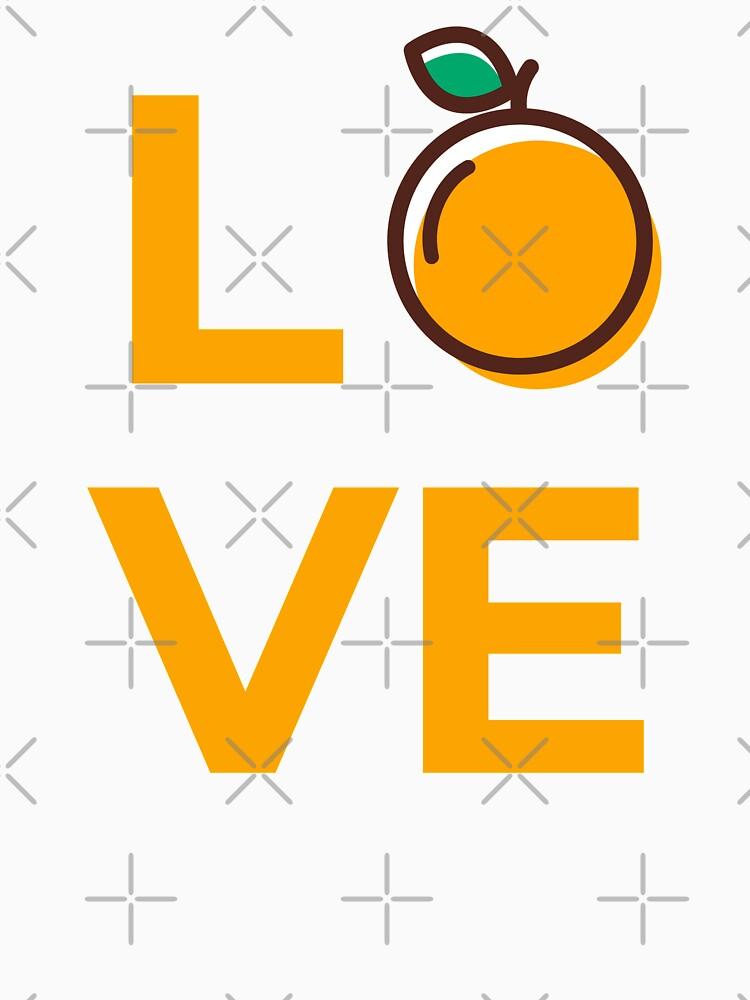 Love Orange Fruit by nikkihstokes