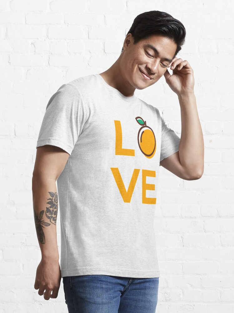 Alternate view of Love Orange Fruit Essential T-Shirt