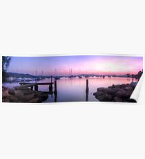 Koolewong Harbour Panoramic Poster