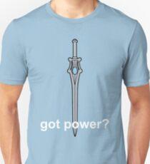 Got Power - She-Ra Sword - White Font  T-Shirt