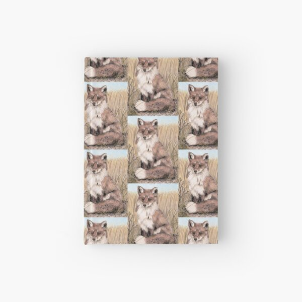 Red Fox in Summer Hardcover Journal