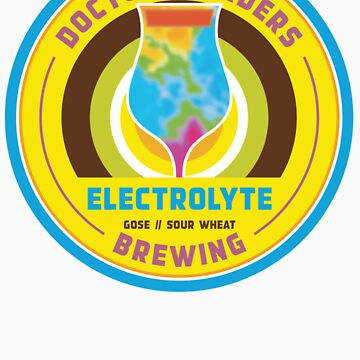 Electrolyte (Gose // Sour Wheat) by darrenjrobinson