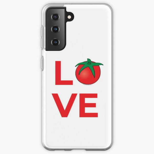 Love Tomato Vegetable Samsung Galaxy Soft Case