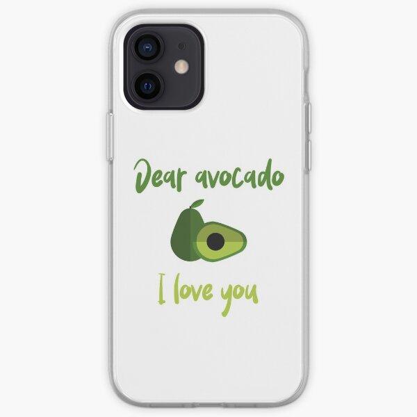 Dear Avocado I Love You iPhone Soft Case