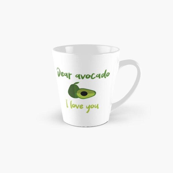 Dear Avocado I Love You Tall Mug