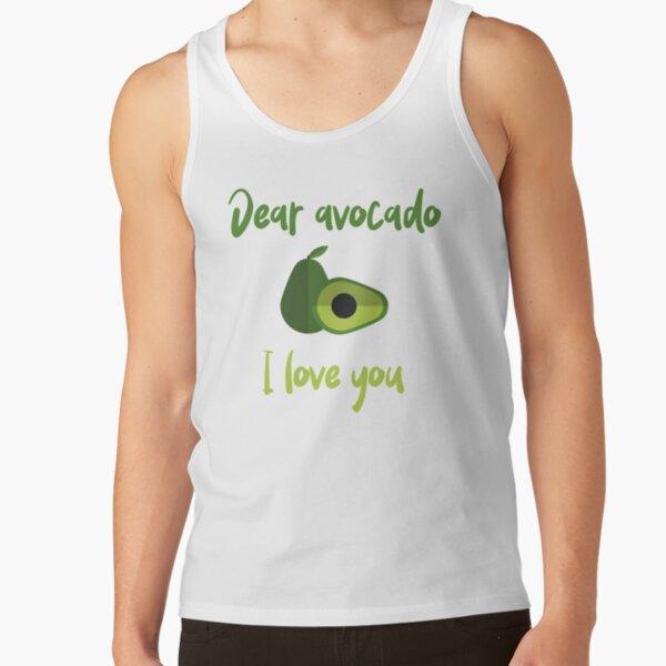 Dear Avocado I Love You Tank Top