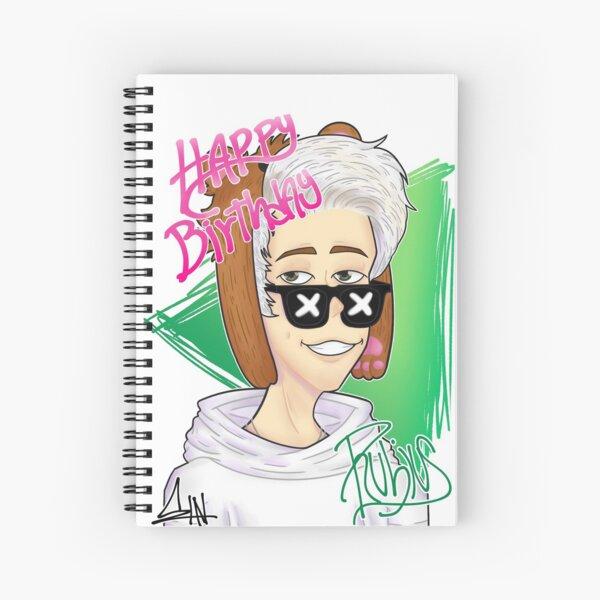 Rubius edit cumpleaños Cuaderno de espiral