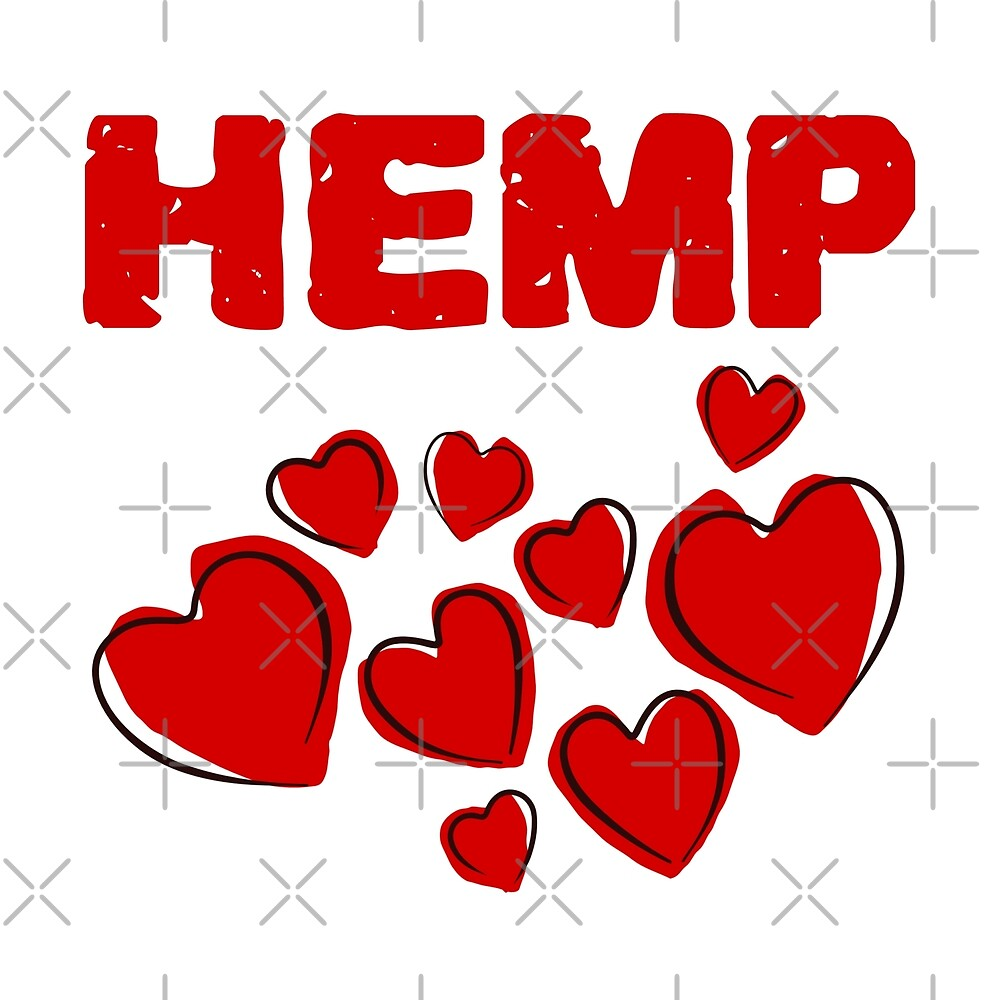 Hemp Hearts Love by Sweevy Swag