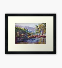 Tranquil Trawool Afternoon Framed Print