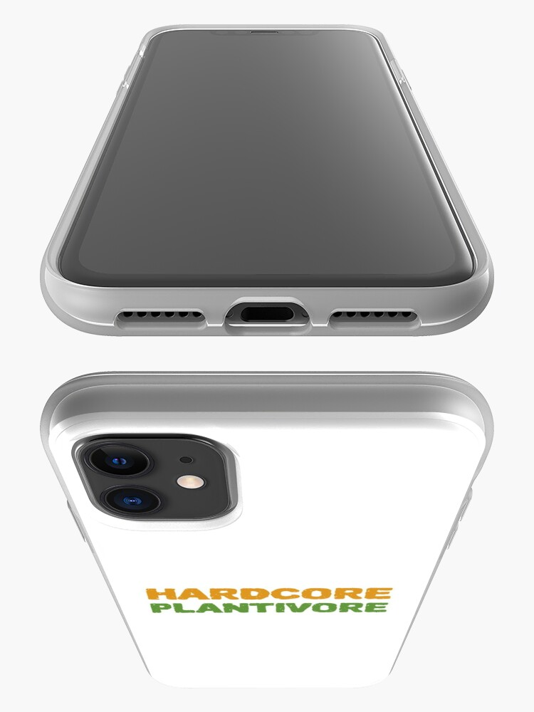 Alternate view of Hardcore Plantivore iPhone Case & Cover
