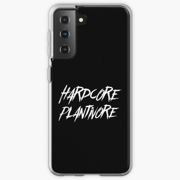 Hardcore Plantivore White Samsung Galaxy Soft Case