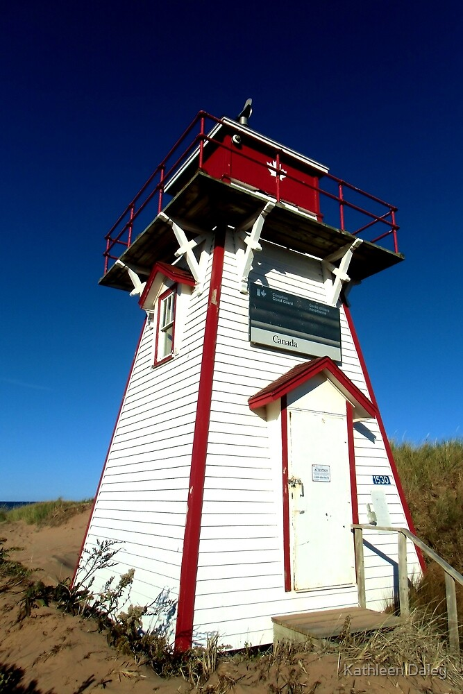 Covehead Harbour Lighthouse I by Kathleen Daley