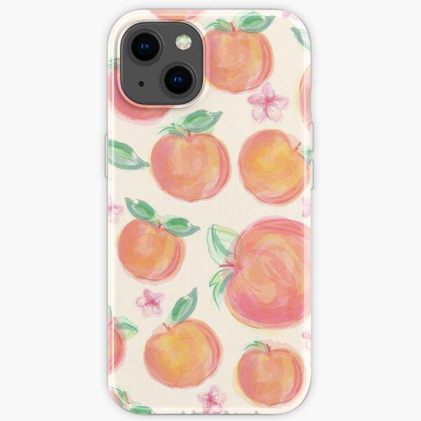 Peaches Botanical iPhone Soft Case