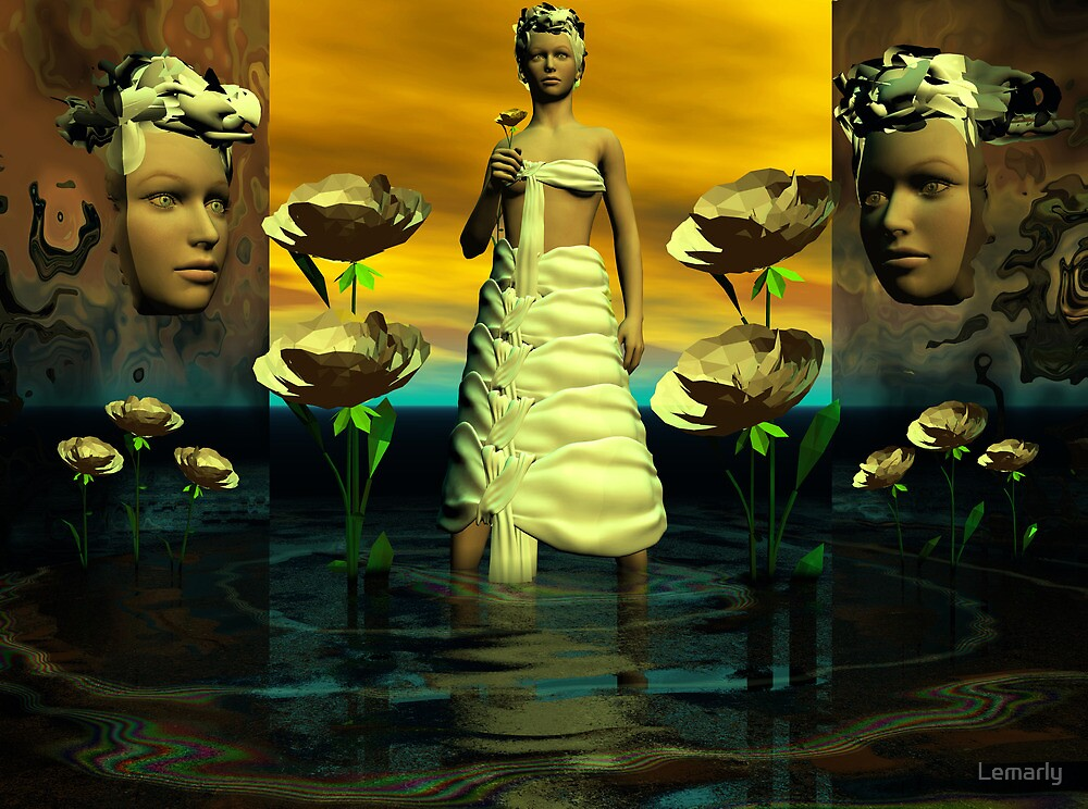 Enchantress of Rosegarden by Lemarly