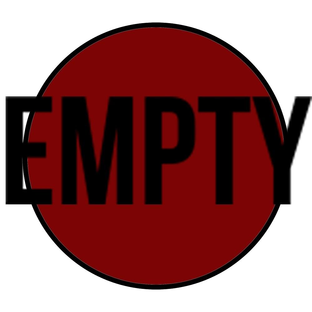 Empty (Red) by ProjectMayhem