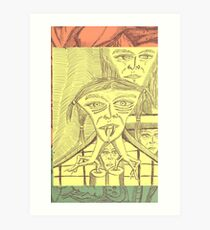 chipped tooth Art Print
