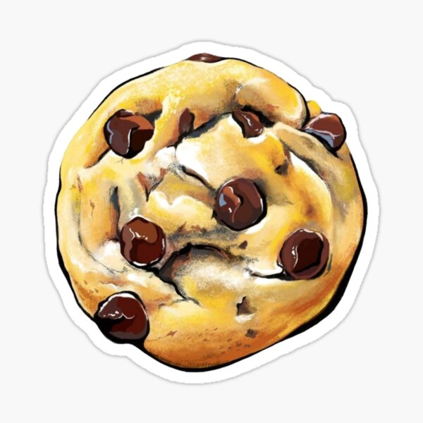 Cookies lover – cookies pattern – cute Design for lovely cookies Sticker