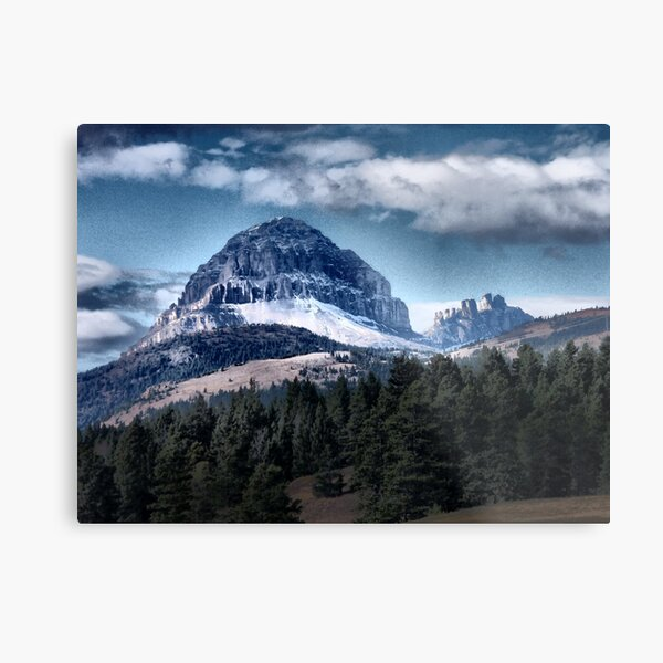 Mountain Peak 3 Metal Print