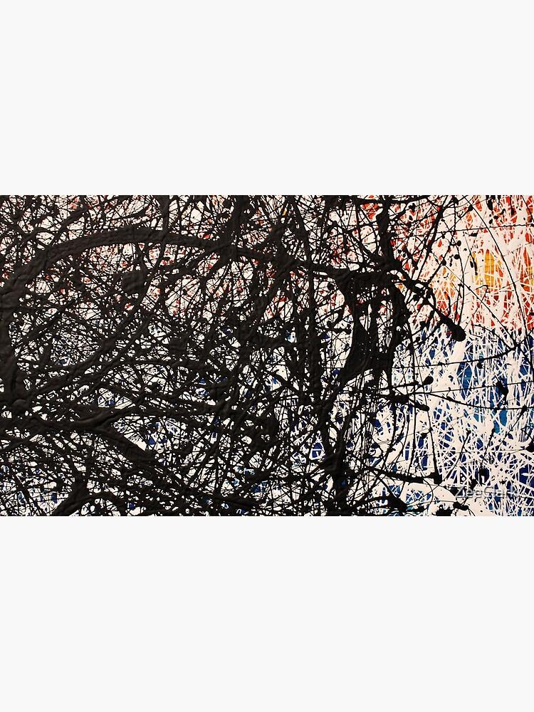 Abstract Jackson Pollock Painting Original Art  by ZeeClark