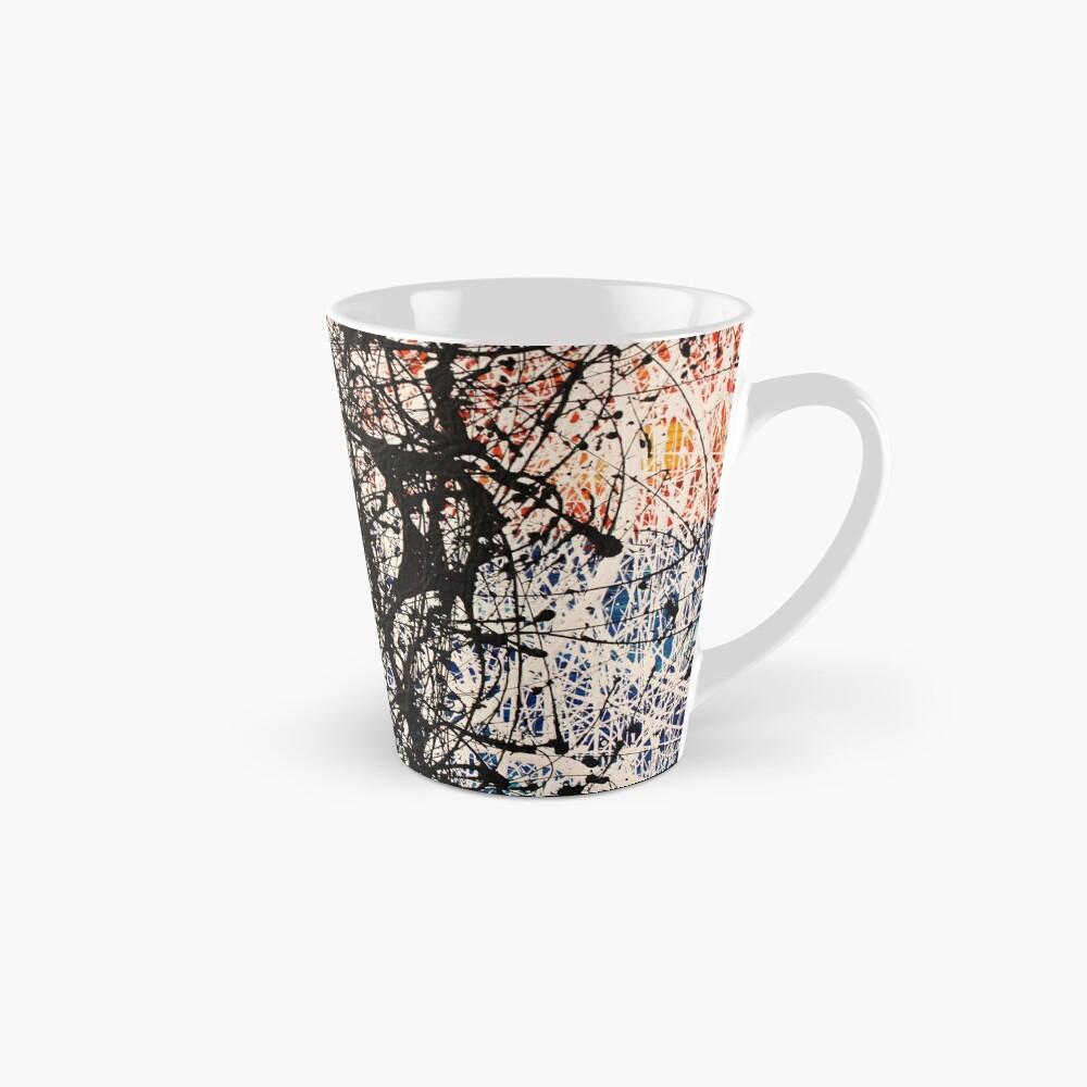 Abstract Jackson Pollock Painting Original Art  Mug