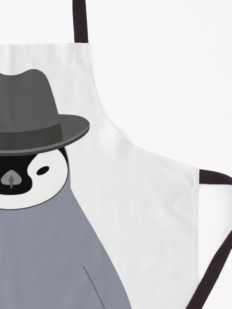 Alternate view of NDVH Baby Penguin Wearing a Homburg Apron